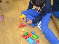 jugando con piezas