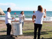Percussion by the sea