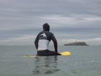 Relax en la tabla de surf
