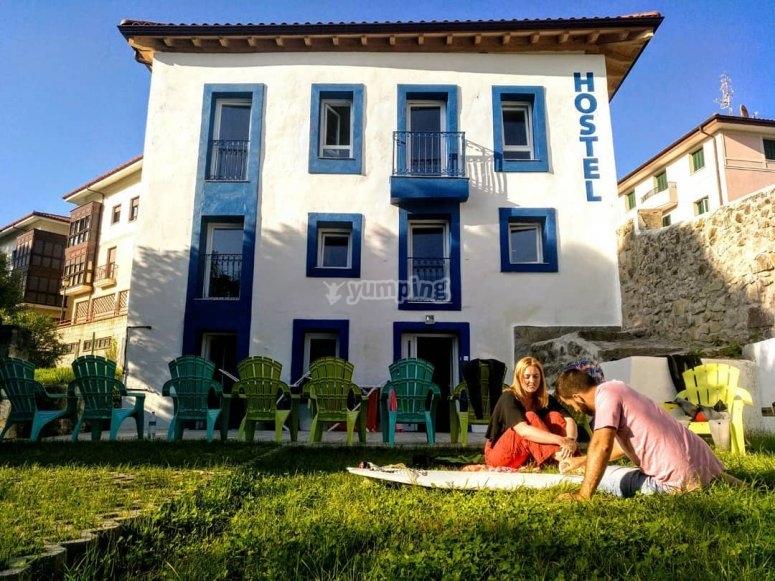 Casa albergue