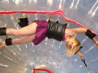 Rolling in Zorbing