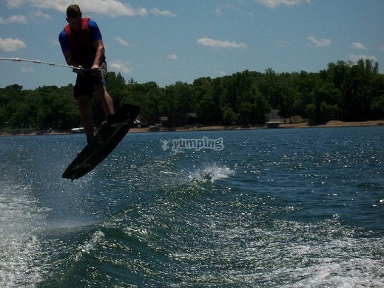 Salto wake board