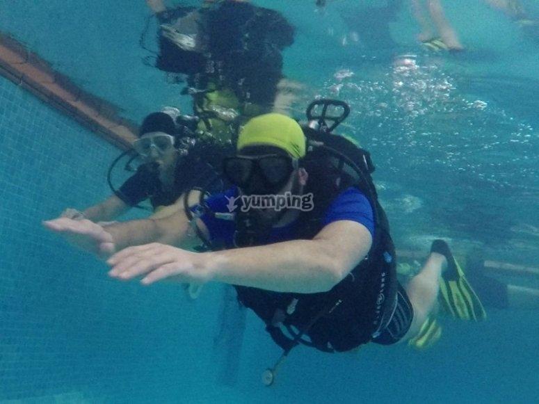 Sciuba diving in Fuenlabrada