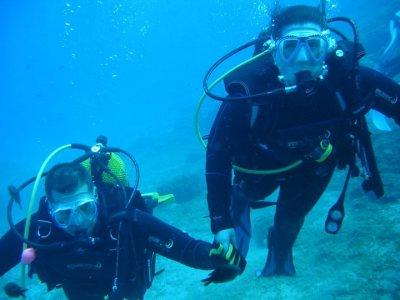 PADI Open Water Diver en Peñón de Salobreña