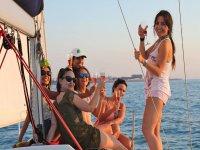 Despedida de soltera en Bahía de Cádiz
