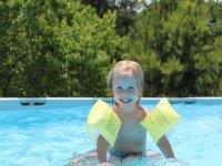 游泳池的乐趣
