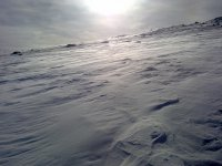 Actividades en la nieve recien caida