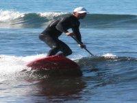 保持平衡桌子桨冲浪冲浪者