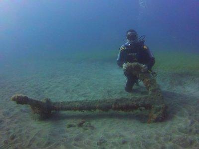 Inmersión desde costa en Gran Canaria titulados
