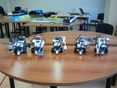 Curso Introducción a la robótica en Bilbao 25h