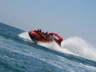 Jet ski Torremolinos jet boat y aquarocket 2 pax