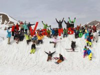 Alumnos del camp de esqui