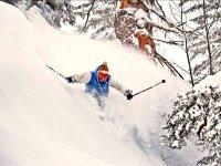 Esquiador freestyle