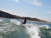 Balancing on the board