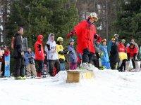 Aprendiendo nuevas habilidades en el snow