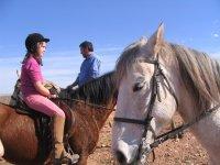 Excursión a caballo en Navarrete