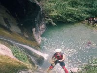 Rappelling section