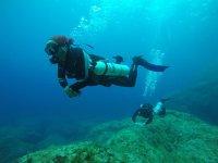Bautismo de buceo en Reserva Marina Norte Menorca