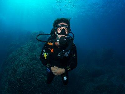 海洋保护区的PADI开放水域