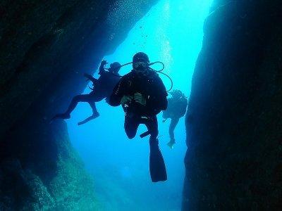 Excursión  kayak snorkel y bautismo buceo Menorca