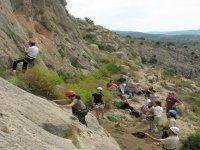 Grupo de escaladores