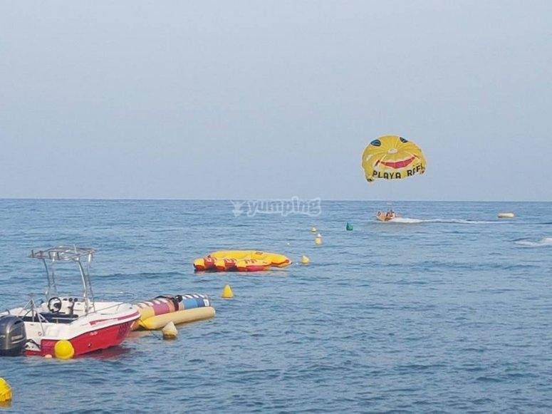 在海上开始冒险