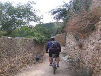 BTT crossing magnificent villages