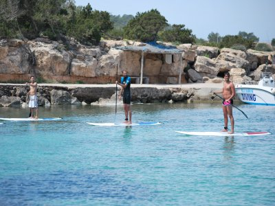 Paddle surf Playa d'en Bossa, media jornada