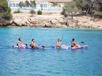 皮划艇之旅Playa d'en Bossa 1小时30分钟。