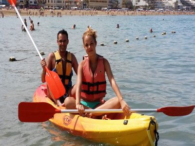 Kayak rental for 1 or 2 people 1 hour