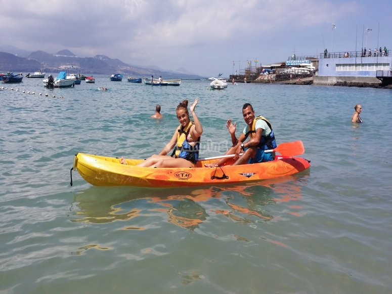 Learn how to sail a kayak