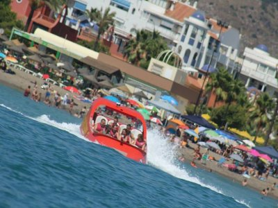 Parasailing + sesión jet boat, 2 pax, Torremolinos