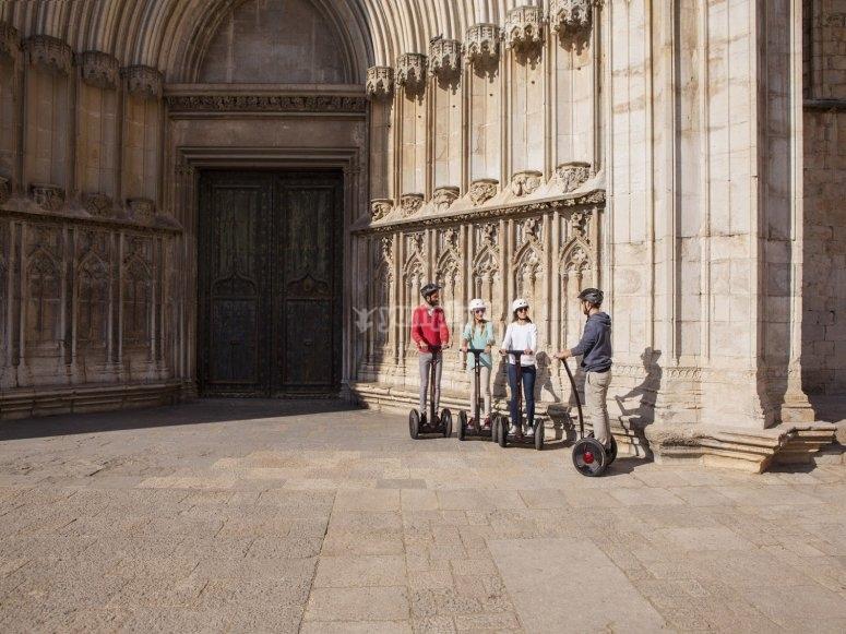 La catedral en segway