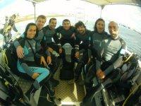Bautismo de buceo desde barco, Marinaseca