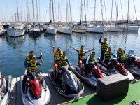 Pronti per l'avventura su una moto d'acqua