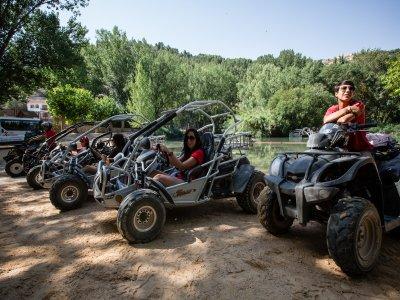 Ruta en buggy biplaza, 45 min, Valle del Júcar