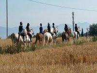 Ruta a caballo por Vic