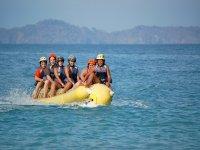 Banana boat nel Mediterraneo