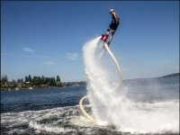Test del flyboard a Valencia