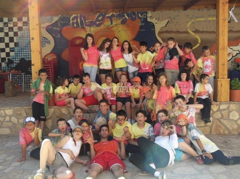 Gruppo di partecipanti