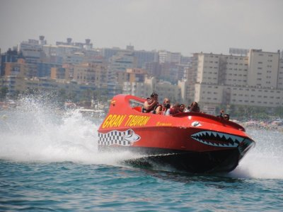Great Shark Jet Boat + Jet Ski for 2 Torremolinos
