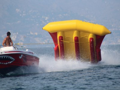 Flying raft + Banana Boat in Torremolinos
