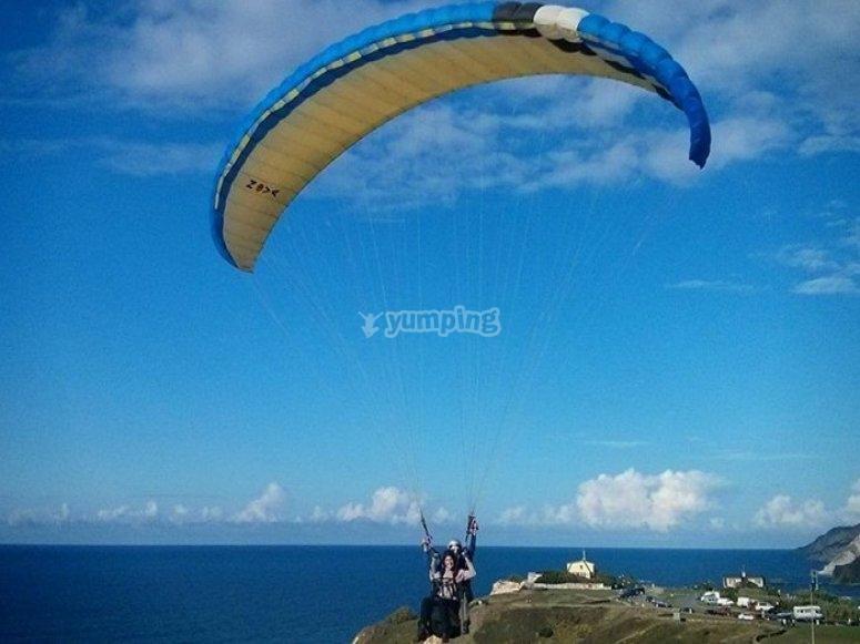 Paragliding in Salou