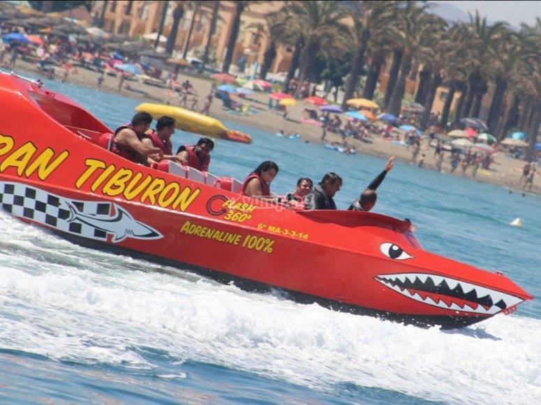 Barco super veloz