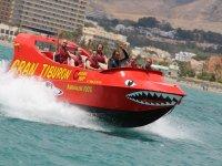 Barco a toda velocidad
