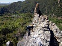 Climbing in Burgos