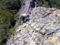 Una roccia ripida