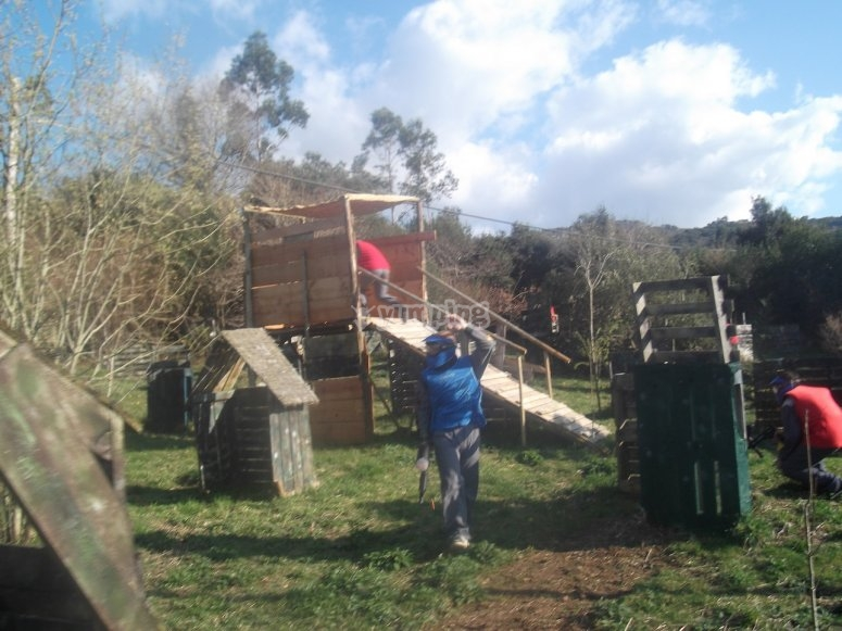 Paintball en Unquera