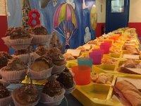 Merienda para cumple infantil en Murcia