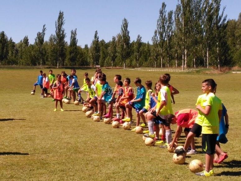 Gruppo di calcio